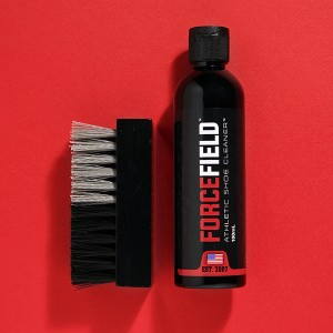 ATHLETIC SHOE CLEANER WITH DUAL BRUSH FO
