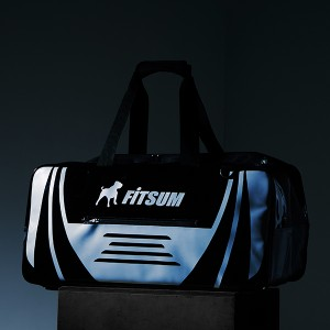 BLACK & WHITE ENAMEL STORY FITSUM BAG 20