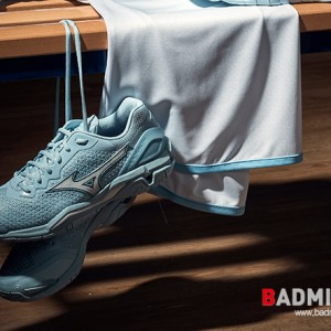 2019 BADMINTON SHOES ANSWER, MIZUNO WAVE