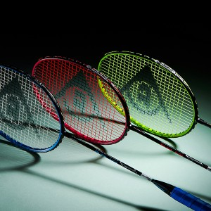 Colorful Neon Color Rackets, DUNLOP M-FI