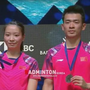 [2018 아시안게임 배드민턴] 중국, 복식에서 금메달 2개 획득