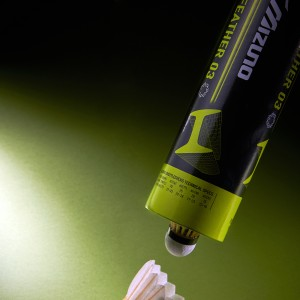 THE FIRST ECO SHUTTLECOCK MIZUNO TECH FE