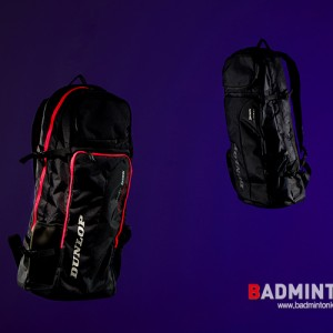 UPGRADED BLACK BACKPACK, DUNLOP PREMIUM