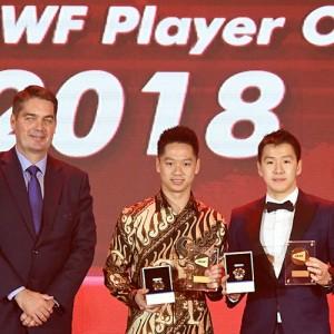 기데온-수카물조, 올해의 선수 2연패 [2018 BWF 시상식]