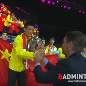 [토마스컵] 중국, 6년만에 토마스컵 정상 탈환