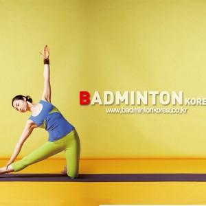 에리카와 함께 하는 Badminton YOGA- GATE POSE(빗장자